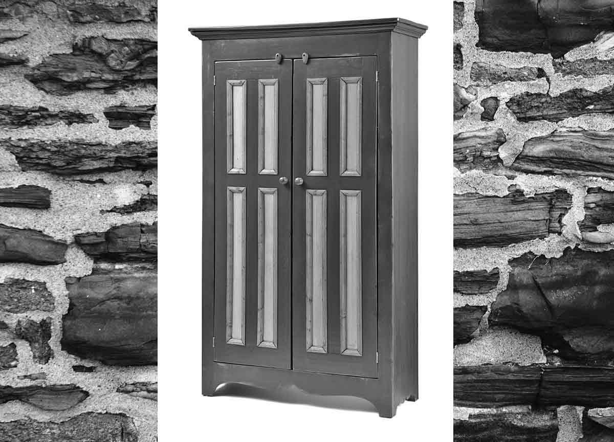 Armoire bois de grange meubles sur mesure meubles for Grange du meuble